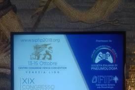 Galleria XIX Congresso Nazionale di Pneumologia, Venezia: il nostro team di docenti e studenti presenta diverse pubblicazioni scientifiche