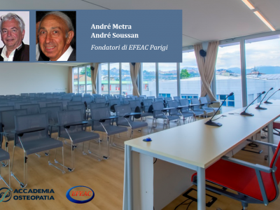 Accademia Osteopatia ospita i fondatori di EFEAC Parigi: a Maggio il seminario