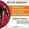 """""""Approccio multidisciplinare all'atleta professionista"""" – Conferenza per il Progetto """"No Pain, Know Gain"""""""