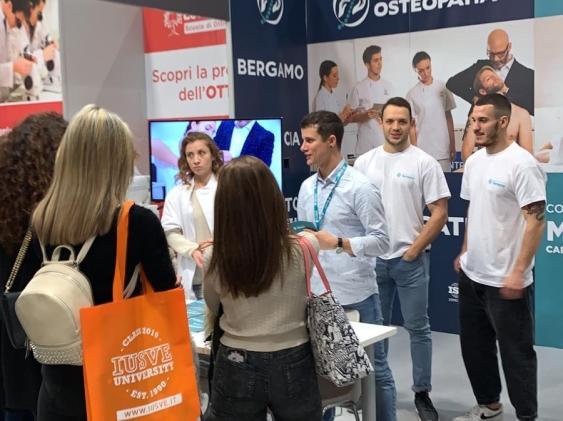 I nostri corsi in Osteopatia presentati alla fiera Job&Orienta di Verona