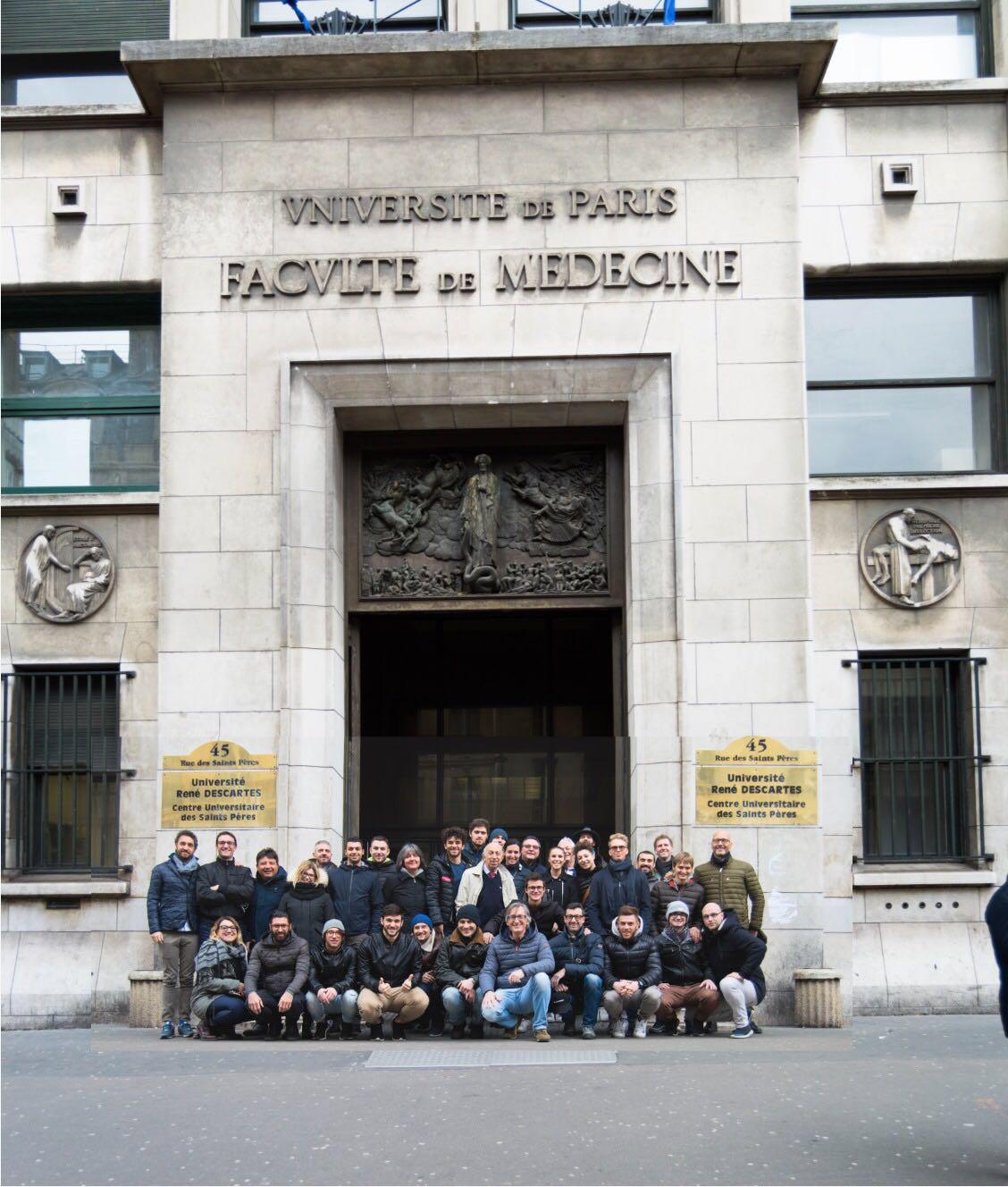 Corsi di dissezione anatomica, Università di Parigi: al completo per il seminario di Novembre, grande entusiasmo per la nuova sessione prevista per il 2019